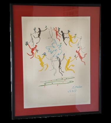 'El baile de la juventud' Pablo Picasso.